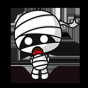 木乃伊贴纸 messages sticker-6