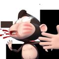 Duobao Monkey-iMessage表情贴纸 messages sticker-11