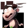Duobao Monkey-iMessage表情贴纸 messages sticker-5