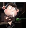 Duobao Monkey-iMessage表情贴纸 messages sticker-9