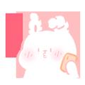 OneRabbit messages sticker-9