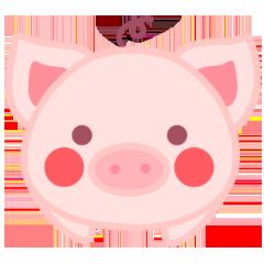 PinkPiggy - sticker messages sticker-0