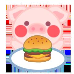PinkPiggy - sticker messages sticker-10