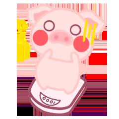 PinkPiggy - sticker messages sticker-11