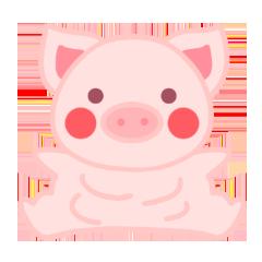 PinkPiggy - sticker messages sticker-5