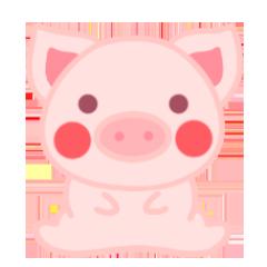 PinkPiggy - sticker messages sticker-3