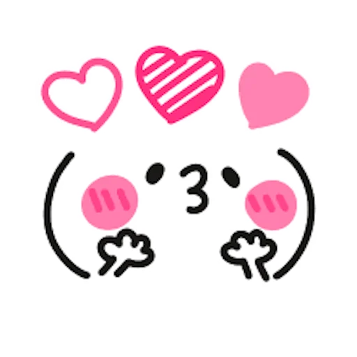 卡哇伊表情 messages sticker-4