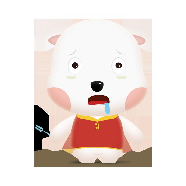 小皮皮狗 messages sticker-0