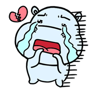 daily life of lovely Hippos messages sticker-6