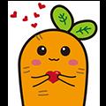 CarrotSleep messages sticker-4