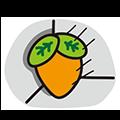 CarrotSleep messages sticker-1