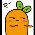 CarrotSleep messages sticker-0