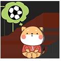 FootballDogRoll messages sticker-0