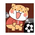 FootballDogRoll messages sticker-9