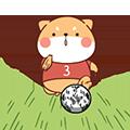 FootballDogRoll messages sticker-1