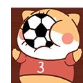 FootballDogRoll messages sticker-2
