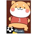 FootballDogRoll messages sticker-7