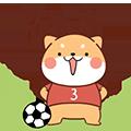 FootballDogRoll messages sticker-11