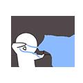 ProblemChild-Emoji messages sticker-2