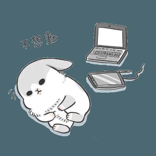 Machiko Rabbit Pack# 2 messages sticker-2