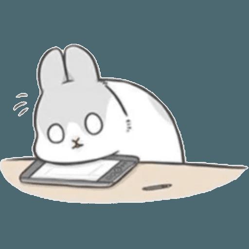 Machiko Rabbit Pack# 2 messages sticker-7