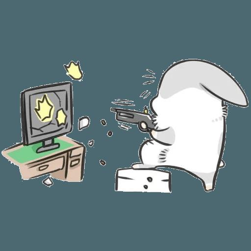 Machiko Rabbit Pack# 2 messages sticker-10