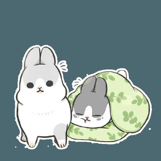 Machiko Rabbit Pack# 2 messages sticker-1