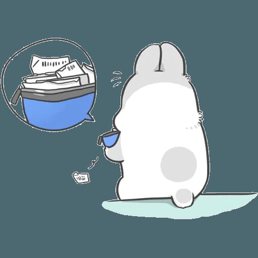 Machiko Rabbit Pack# 2 messages sticker-8