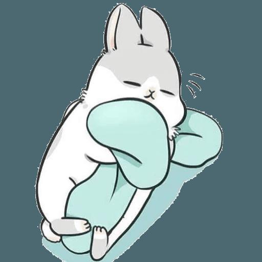 Machiko Rabbit Pack# 2 messages sticker-11