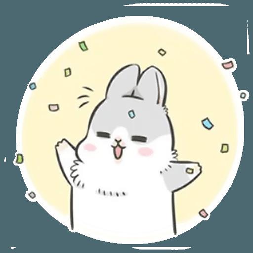 Machiko Rabbit Pack# 2 messages sticker-0