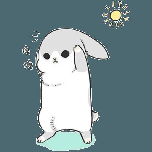 Machiko Rabbit Pack# 2 messages sticker-6