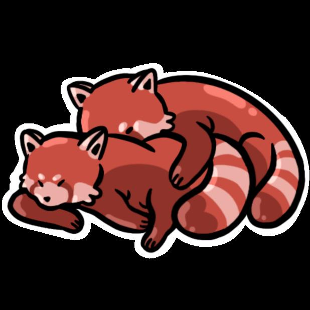 Cute Animal Emoji messages sticker-9