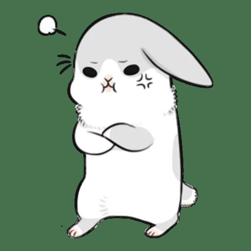 Machiko Rabbit Pack# 3 messages sticker-5