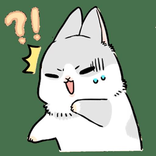Machiko Rabbit Pack# 3 messages sticker-10