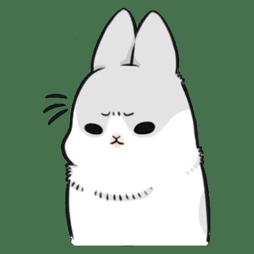 Machiko Rabbit Pack# 3 messages sticker-6