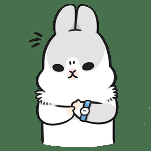 Machiko Rabbit Pack# 3 messages sticker-9