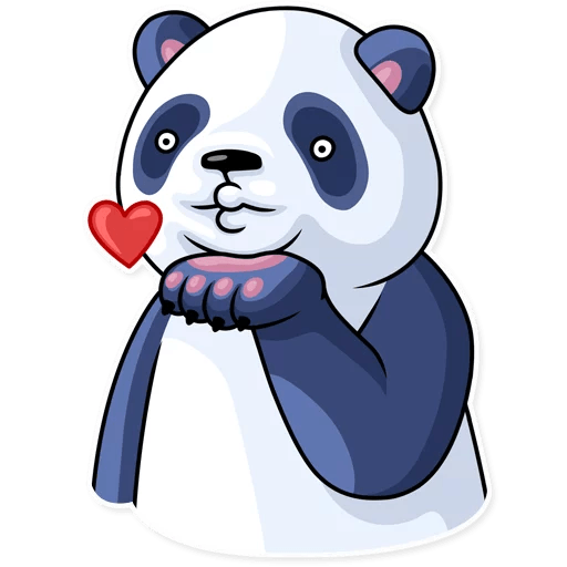 Fluffy Lazy Panda Stickers messages sticker-1