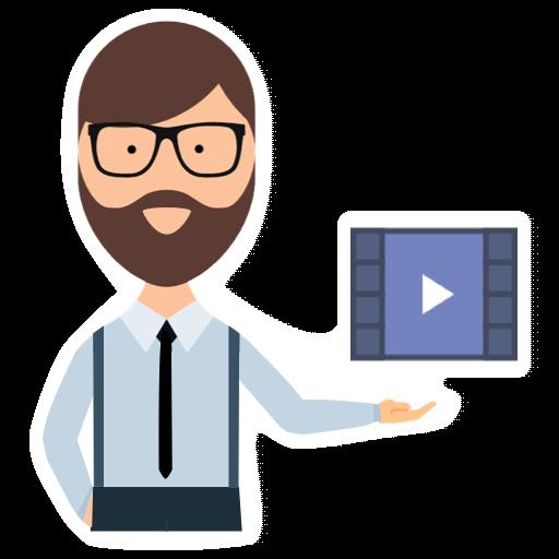 Video Teleprompter - Malatesta messages sticker-1