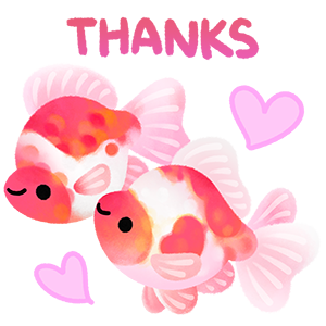 Happy tropical fish 2 messages sticker-3