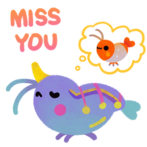 Happy tropical fish 2 messages sticker-8