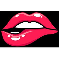 RedLips-mood messages sticker-8