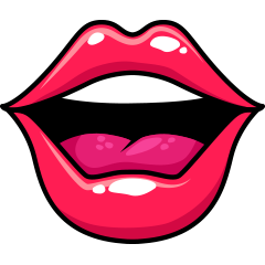 RedLips-mood messages sticker-0