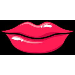 RedLips-mood messages sticker-10