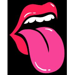 RedLips-mood messages sticker-6