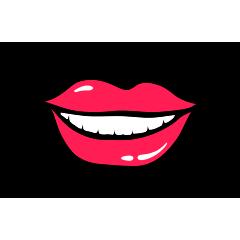 RedLips-mood messages sticker-9