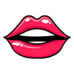 RedLips-mood messages sticker-7