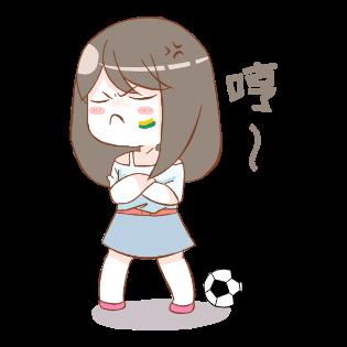 足球6贴图-手机短信贴图 messages sticker-4