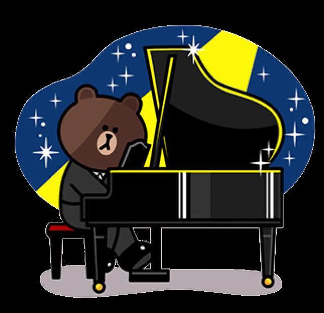 钢琴贴纸 messages sticker-7