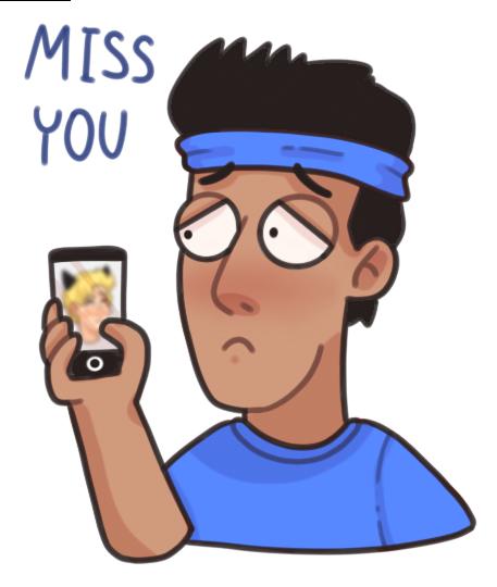 Gay lgbt stickers (Notabu) messages sticker-0
