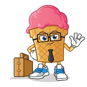 Happy Ice Cream messages sticker-8